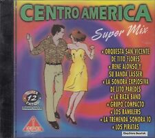 Orquesta San Vicente Rene Alonso Centro America Super Mix CD New Sealed