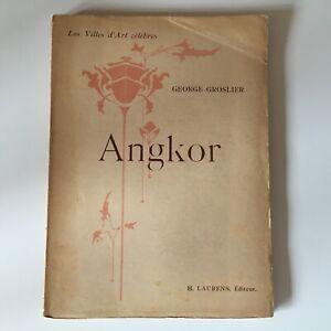 George Grolier I Città Arte Famosi Angkor Tabellone Carte H.Laurens 1924