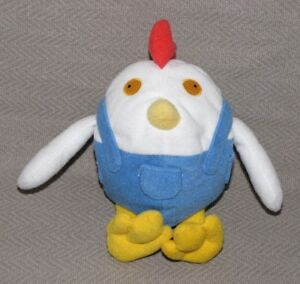 Mattel-1999-Disney-Toy-Story-2-Chicken-Al-039-s-Toy-Barn-Star-Bean-Plush