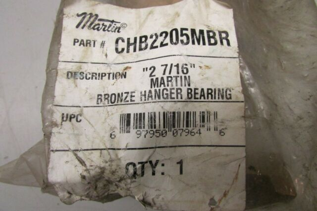 "KWS HGB2261UHMW 1/"" Hanger Bearing CHB2202U UHMW Plastic NEW"