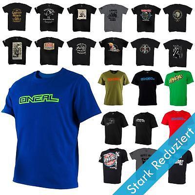 O/'Neal Racing Freizeit T-Shirt Schwarz Basic Freizeit Herren Damen MX Supermoto