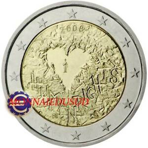 2-Euro-Commemorative-Finlande-2008-Declaration-des-Droits-de-l-039-Homme
