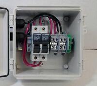 Solar Panel Combiner Box - 3-string Fused Pv Solar Power Combiner