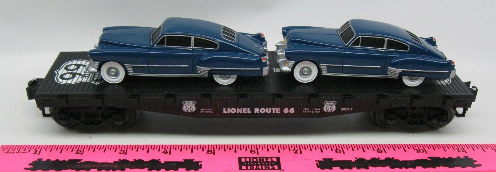 Lionel - 17560 route 66 flachwaggon