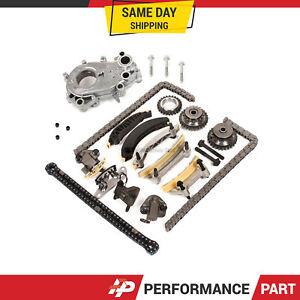 Timing Chain Kit Oil Pump For 04 06 Suzuki Buick Cadillac Srx Sts Cts Saab 3 6 Ebay