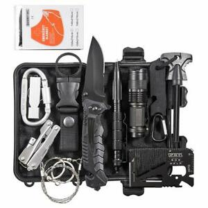 13-in-1-Outdoor-Camping-Survival-Gear-Kits-Tactical-SOS-EDC-Emergency-Kit-Tools