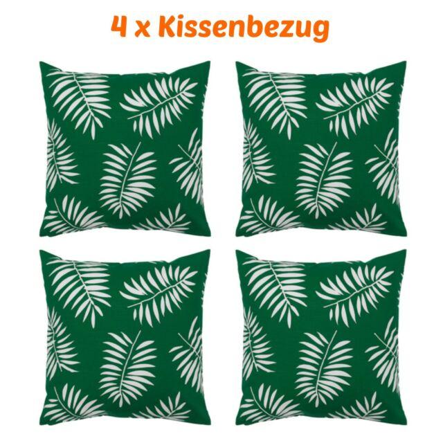 4 X Ikea Vindfläkt Kissenbezug 50x50cm Kissenhülle M Reißverschluss 4 Stück