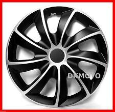 "4x16"" Wheel trims for TOYOTA PRIUS 16"" full set black / silver"