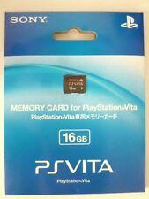 New PS VITA Memory Card 16GB Sony Official PSV Japan