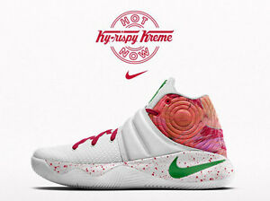 finest selection 6b971 83e77 Image is loading Nike-Kyrie-2-PRM-Krispy-Kreme-Size-11-