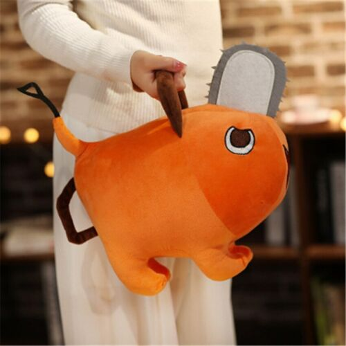 Details about  /Anime Chainsaw Man Pochita Plush Doll Pillow Cute Soft Stuffed Toys Gifts Figure