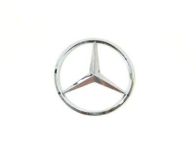 90mm Car Rear Sticker Emblem Badge Decal Logo Accessories For Mercedes-Benz