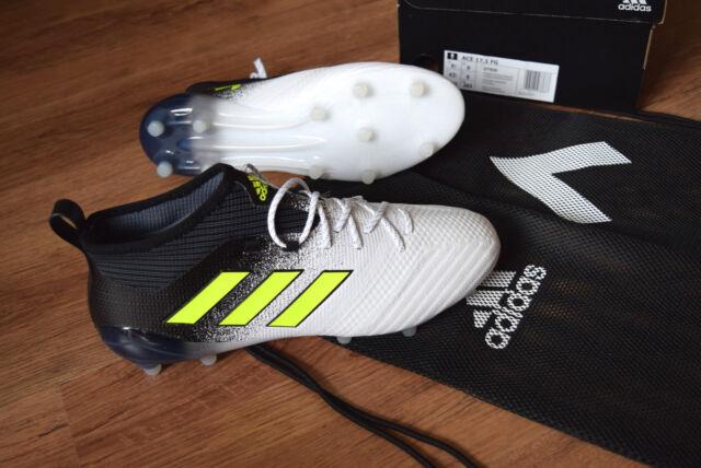 adidas Ace 17.1 Primeknit FG WEISS gelb schwarz 43 1/3