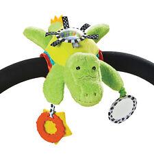 Manhattan Toy Play & Go Alligator Baby Activity Soft Stroller Pushchair Mobile