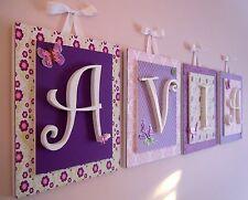 nursery wall letters ebay