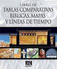 Libro de Tablas Comparativas Biblicas, Mapas y Lineas de Tiempo by B&h Espanol Editorial (Hardback, 2012)