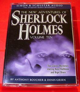 New-Adventures-Of-Sherlock-Holmes-10-Flanders-Fields-1-Tape-Audio-Basil-Rathbone