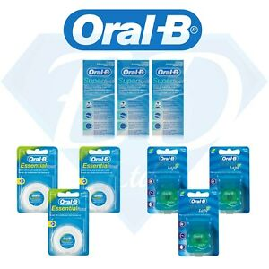 3-Pack-x-Oral-B-Dental-Essential-Floss-Super-Floss-Satin-Tape