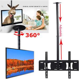 deckenhalterung drehbar 360 schwenkbar decken halterung led tv wandhalt 32 63 ebay. Black Bedroom Furniture Sets. Home Design Ideas