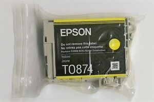 Original-Epson-T0874-Yellow-Flamingo-Stylus-Photo-Photo-R1900-Original-Packaging