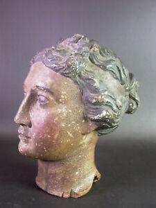 lebensgrosse-antike-Frauen-BUSTE-Holz-geschnitzt-um-1700