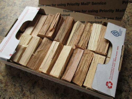 Seasoned Hickory Wood for Grilling Smoking Barbecue Chunklets Size