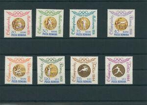 Roumanie-Romania-1964-Mi-2345-2352-Neuf-MNH-Plus-Sh-Boutique