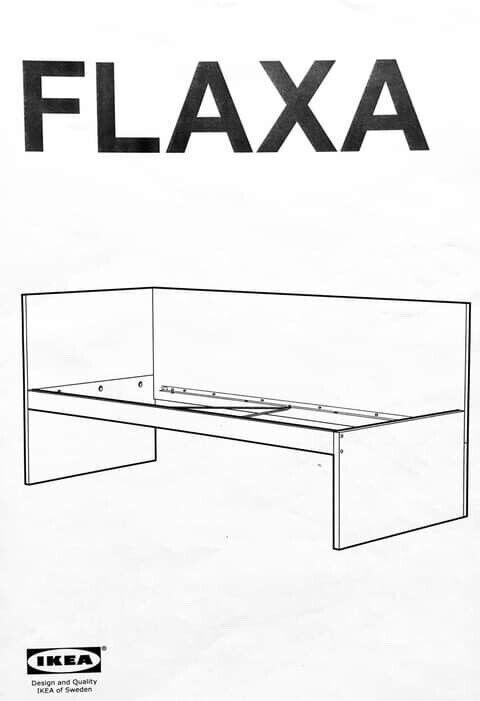 Enkeltseng, IKEA, b: 90 l: 200 h: 40