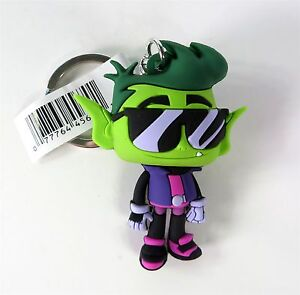 Teen Titans Go Figural Keyring Silkie Blind Bag Figure NEW