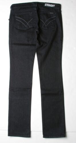 Savannah Blk 29 William Rast Sadie Straight Leg Jeans