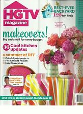 HGTV MAGAZINE,  JULY / AUGUST, 2013  ( BEST -EVER BACKYYARD * MAKEOVERS ! )