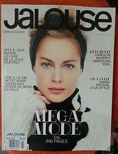 JALOUSE Magazine Carolyn Murphy NEW French October 20013