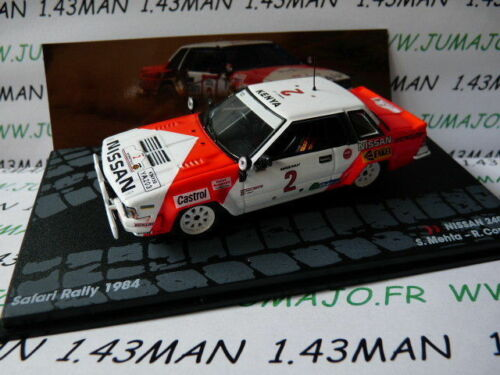 Nissan 240 Rs Mehta Combes RIT43M 1//43 ixo altaya Italy Rally Safari 1984