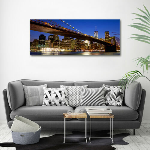 Acrylic Glass Picture Wall Picture Print 125x50 sights Manhattan New York