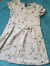 girl 5 years 4-5 years GAP grey summer dress