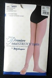 e54e3eb65d8fa4 Image is loading NEW-Body-Wrappers-Professional-Backseam-Convertible-Tights -Adult-