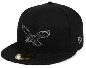 designer fashion 35058 e5d7c Image is loading Official-Philadelphia-Eagles-New-Era-NFL-Black-Gray-