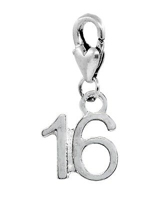 Pride Inspirational Message Word Lobster Claw Clip Dangle Charm for Bracelets