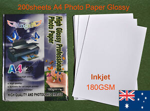 200-sheets-A4-180GSM-Inkjet-Glossy-Photo-Paper