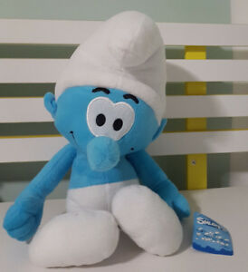 THE-SMURFS-GENERIC-SMURF-CHARACTER-PLUSH-TOY-SOFT-TOY-ABOUT-38CM-TALL-KIDS-TOY