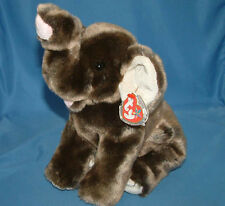 Ty Large Plush Beanie Buddy Trumpet Elephant Buddies  MWMT