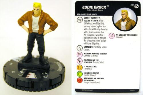 HeroClix #015 Eddie Brock Spider-Man and Venom Absolute Carnage