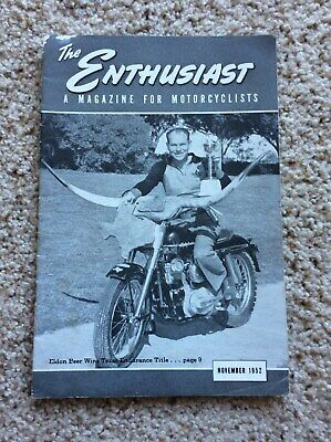 "Vintage /"" The Enthusiast /"" AMF Harley Davidson Motorcycle Magazine Summer 1978"