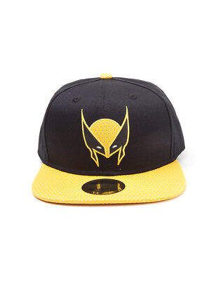 OFFICIAL MARVEL COMICS - X-MEN WOLVERINE MASK COMIC STYLED SNAPBACK CAP (NEW)