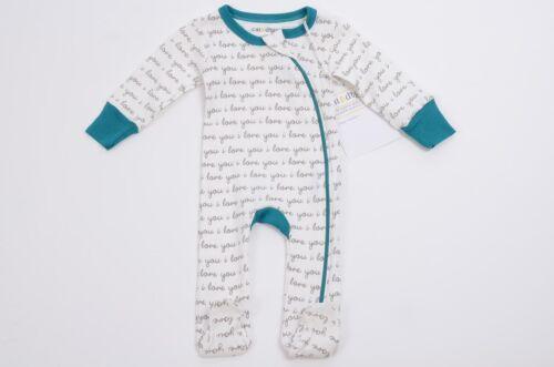 Cat /& Dogma organic cotton one piece bodysuit sleep footsie NEW $31