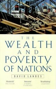 Wealth-And-Poverty-Of-Nations-Landes-David-S-Very-Good-Paperback