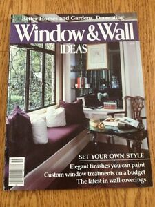 Details about Better Homes Garden Decorating Magazine Window Wall Ideas on better homes gardens room additions, seventeen bedroom decorating, real life bedroom decorating, martha stewart bedroom decorating, country home bedroom decorating, better homes and gardens entryway decorating, bedroom colors home and garden decorating,