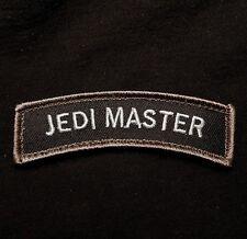 JEDI MASTER TAB ROCKER USA ARMY BADGE MILITARY SWAT VELCRO® BRAND FASTENER PATCH