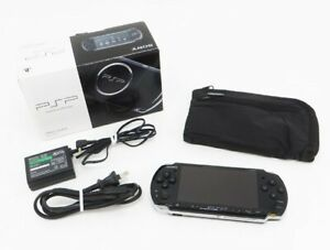 Sony-PSP-3000-Launch-Edition-Black-Handheld-System-Console-Japan-Excellent