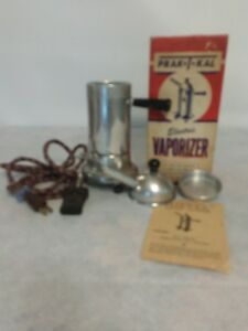 vintage prak t kal electric vaporizer l 2 complete in original